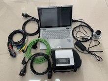 MB Star C4 SD Connect + SSD système de Diagnostic 2019.03 v HHT MB SD Compact 4 pour MB outil de Diagnostic avec ordinateur portable cf-ax2 i5cpu 8 gb ram