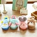 Kids/Children Winter Animals Home/House Slippers/Shoes Fleece Warm Zapatillas/Pantoffels/Badslippers/Pantuflas For Girls/Boys