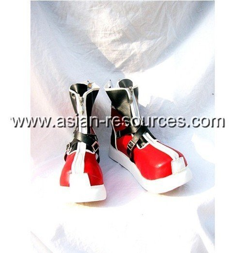 Wholesale Free Shipping Express Cheap Cosplay Shoes & Boots Kingdom Hearts SORA Red Boots S2206