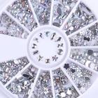 Silver Nail Rhinesto...