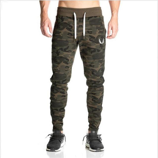 2017 Golds Pants Mens Tracksuit Bottoms Cotton Fitness Skinny Joggers Sweat  Pants Pantalones Chandal Hombre Casual Pants 245c8ecf8c30
