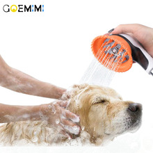 Pet Bathing Tool Comfortable massage Shower Cleaning Washing Bath Sprayers Dog Brush Supplies Wholesale