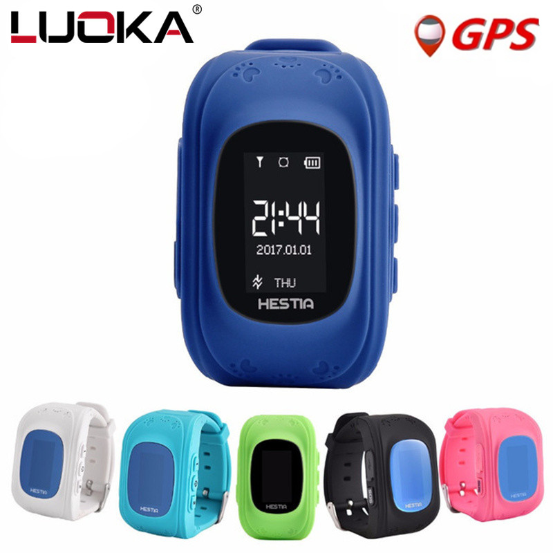 HEIßER Q50 Baby Smart Uhr Kinder SOS Armbanduhr GPS Kinder Uhr Locator Tracker Anti-verlorene SmartWatch Kind Schutz für iOS Android