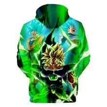 Dragon Ball Z Fashion Hoodies Men