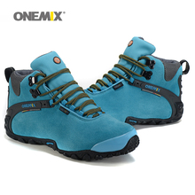 New Onemix men's anti slip outdoor hiking shoes