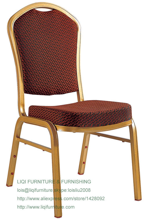Wholesale Quality Strong Modern Aluminum Stacking Banquet Chairs LQ-L209