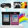 2pcs Sets For HP901 XL HP901 Color/ Black Ink Cartridges For HP OfficeJet 4500 J4580 J4550 J4540 J4680 J4535 Printer