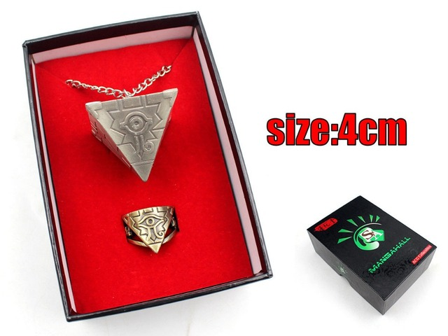 Аниме набор кулон и кольцо Yu-Gi-Oh