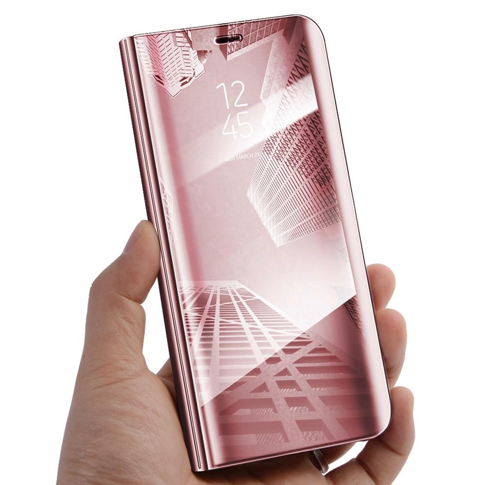 Wallet Mirror View Flip Cover Samsung Galaxy J510j5 2016 Biru Spec Original Clear Casing For S8 Plus Jetjoy Case Luxury Smart Stand