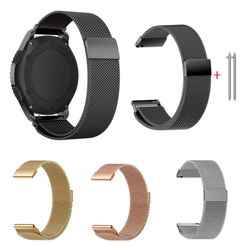 silicone strap sport band for samsung gear s3 s2 classic huawei watch 2 xiaomi huami amazfit pace lite pebble time steel 20 22mm Band for Samsung Gear S2 sport S3 Classic Frontier watch Strap huami amazfit pace Bip 20mm 22mm pebble time Garmin Vivoactive 3