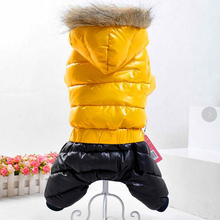 2017   Pet Clothes for Dogs Winter Warm Clothes  Pet dog Clothing Coat jacket for small big dog  Clothes Jumpsuit