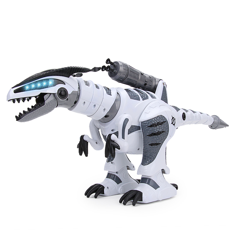 RC Intelligent Dinosaur Model Sing &Dance Electric Infrared Remote Control Robot Toy For Children Hobby Toys the dinosaur island jurassic infrared remote control electric super large tyrannosaurus rex model children s toy