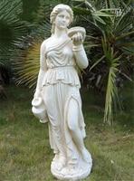 115 см большие размеры Европейский характер сад скульптур home decor тела людей статус polyresin человеческая фигурка статуи ремесел