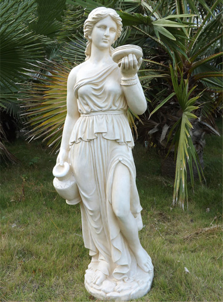115cm big size european character sculpture garden home