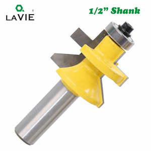 Image 4 - LAVIE 2pcs 12mm 1/2 Shank 120 Degree Router Bit Milling Cutter Frame Groove Tenon Woodworking Engraving Wood Milling Set 03004