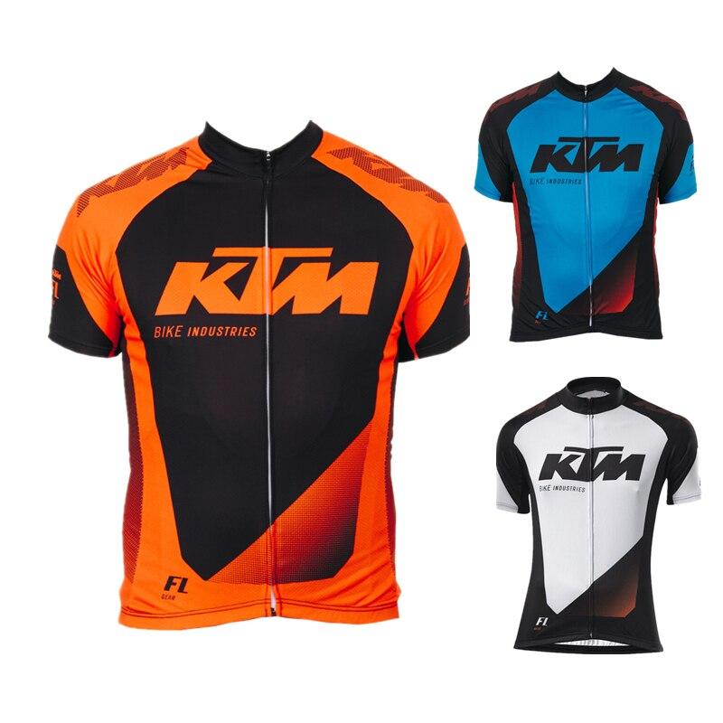 Цена за Ktm 2016 Велоспорт джерси только новый ропа хомбре лето mtb велосипед майо ciclismo ciclsimo одежда велоспорт спорт велосипедов