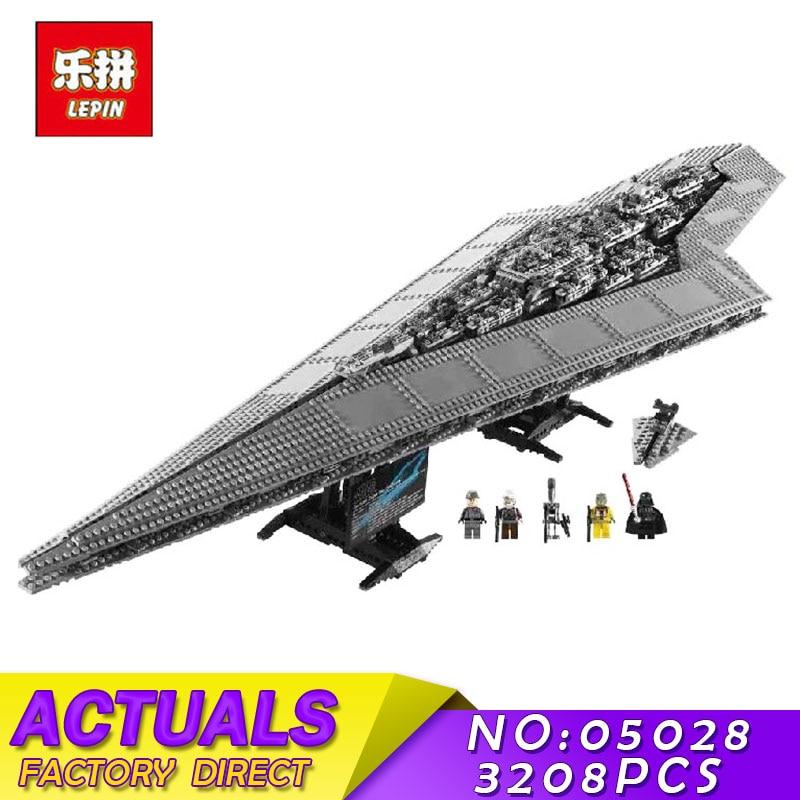 LEPIN 05077 6125PCS MOC Star Series Wars Classic Ucs Republic Cruiser Building Blocks Bricks Toys for Children Gift 05033 05028