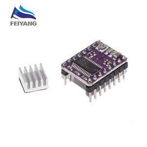 Image 5 - 100PCS 3D מדפסת חלקי Reprap A4988 DRV8825 צעד מנוע נהג מודול עם צלעות קירור Stepstick DRV8825 תואם StepStick