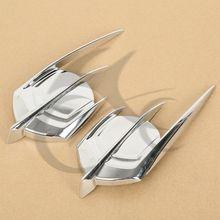 Chrome Сокол Обтекателя Эмблема Крышка Для Honda Goldwing GL1800 2012-2013 0521-1100
