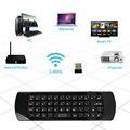 Rii мини i25A K25A 2.4 Г Fly Air Mouse Беспроводной Английский клавиатура Дистанционного Микрофон ИК Обучения для Android Smart TV Box компьютер