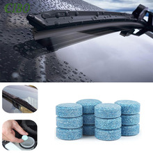 5PCS/Pack(1PCS=4L Water)Car Solid Wiper Fine Seminoma Auto Window Cleaning Car Windshield Glass Cleaner Accessories