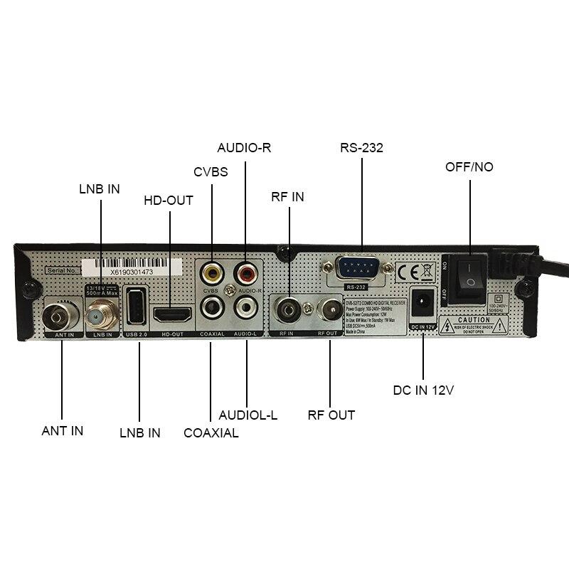 Alphabox X6+ Combo DVB S2/T2/C Satellite TV Receiver Support