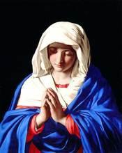Ventas calientes del envío libre tamaño Medio gobelino, La Religión Madonna Diseño de imagen de la tela de Tela colgante de Pared Fotos