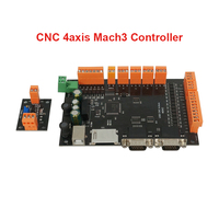 100KHz MDK2 4 Axis USB Mach3 CNC Motion Controller Board For CNC Router Machine