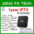 IPTV D package subscription for Turkey,Iran,Persian,Afghanistan,Albaian,Russsian,Latino,Arabic,Africa,Europe,greet sport
