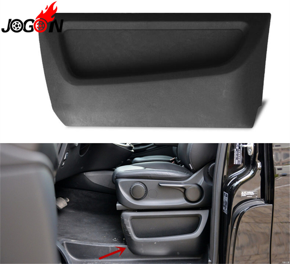 Interior Car Seat Slit Gap Pocket Slot Storage Glove Box Holder Container For Mercedes Benz V
