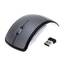 2.4G Wireless Folding Mouse 1600 DPI Traveling Mouse For Computer Mini Mice USB Receiver Mouses Wireless For Notebook Laptop