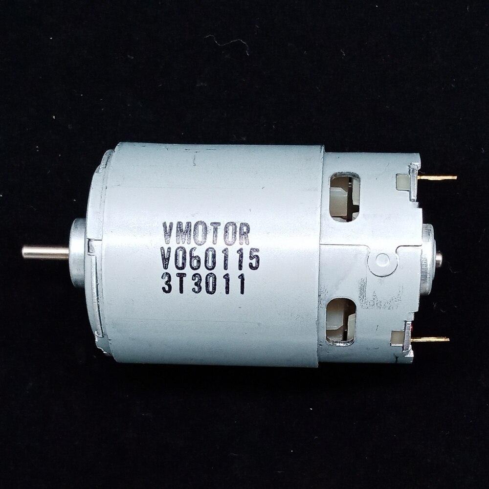 550 dc DC12V alta potência do motor de alta velocidade do motor DIY modelo do veículo poderoso ímã permanente máquina