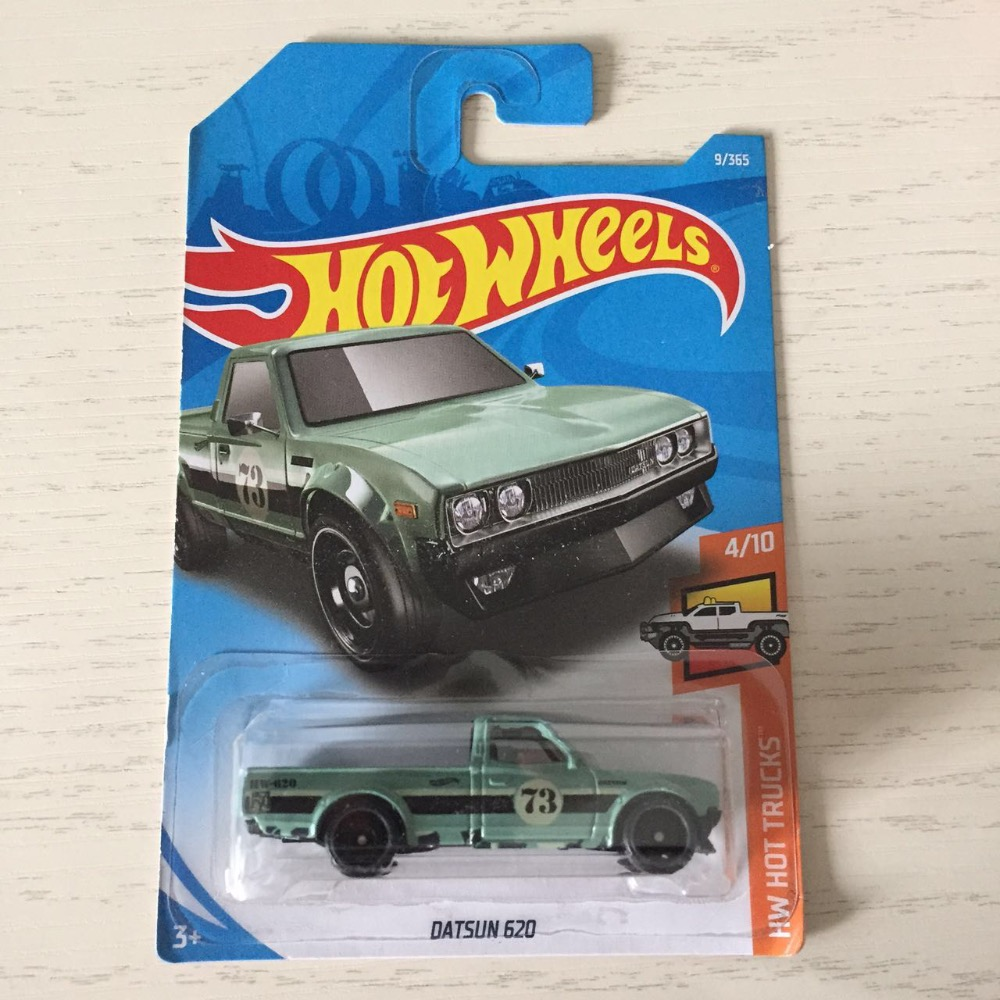 Hot Wheels Hotwheels Datsun 620 Red New Arrivals 2018 8d 164 Mazda Repu Car Models Collection Kids 8a Green Toys Vehicle