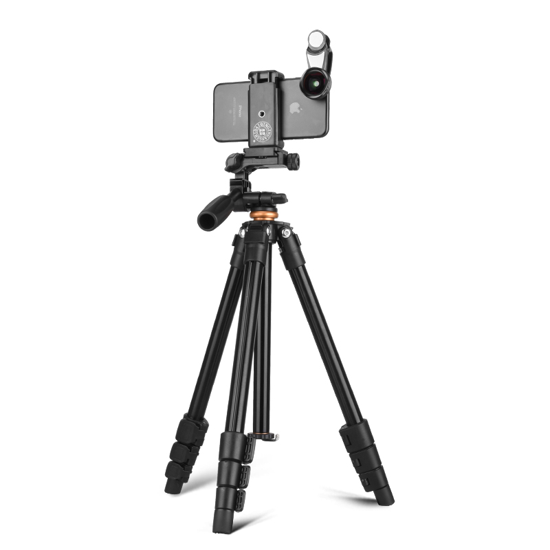 Здесь продается  QZSD Q160A Professional aluminum mini tripod digital video DSLR camera tripod with panhead mini tripod  Бытовая электроника