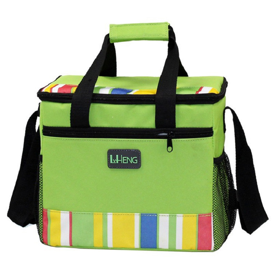 купить 13 L Folding Insulation Ice Pack Cold Breast Milk Storage Thermal Waterproof Lunch Ice Pack Coke Cooler Bag Take-Away Bag Tote онлайн