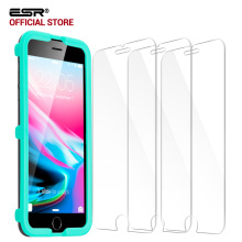 Screen Protector for iphone 8/8 Plus, ESR 3Pack 5X Stronger Tempered Glass Protector with Applicator for iPhone8 8Plus 7 7 Plus
