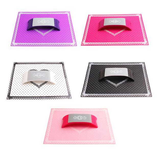 1 Set Silicone Cushion Advanced Salon Plastic Equipment New Hand  Holder Nail Art