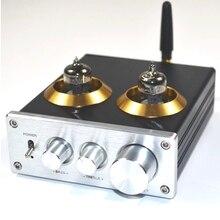 ハイファイのbluetooth 4.2バッファ6J1チューブプリアンプアンプステレオプリアンプ高音低音トーンボード制御ホームシアター用