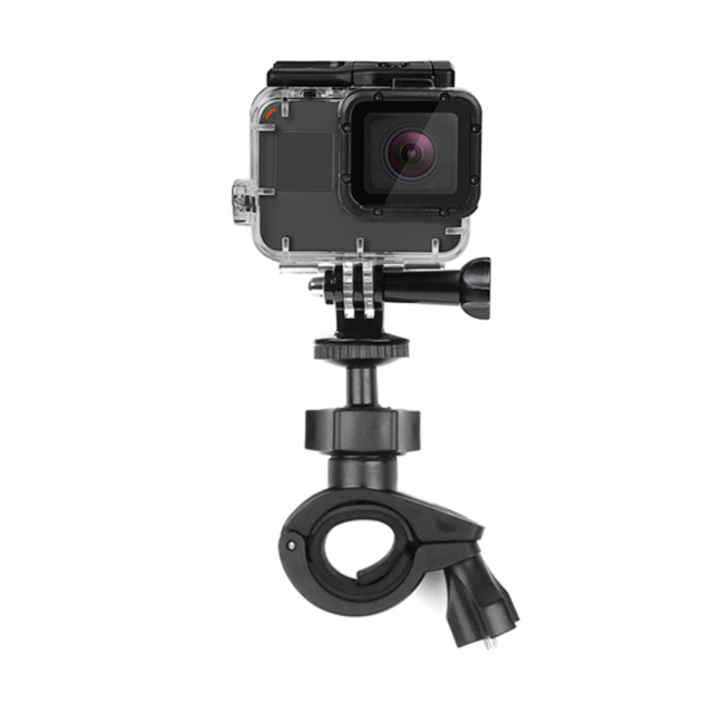 SHOOT O Shape Handlebar Clamp Mount For GoPro Hero 7 6 5 4 Black Xiaomi Yi 4K Sjcam Sj4000 Eken Cycling for Go Pro 6 5 Accessory