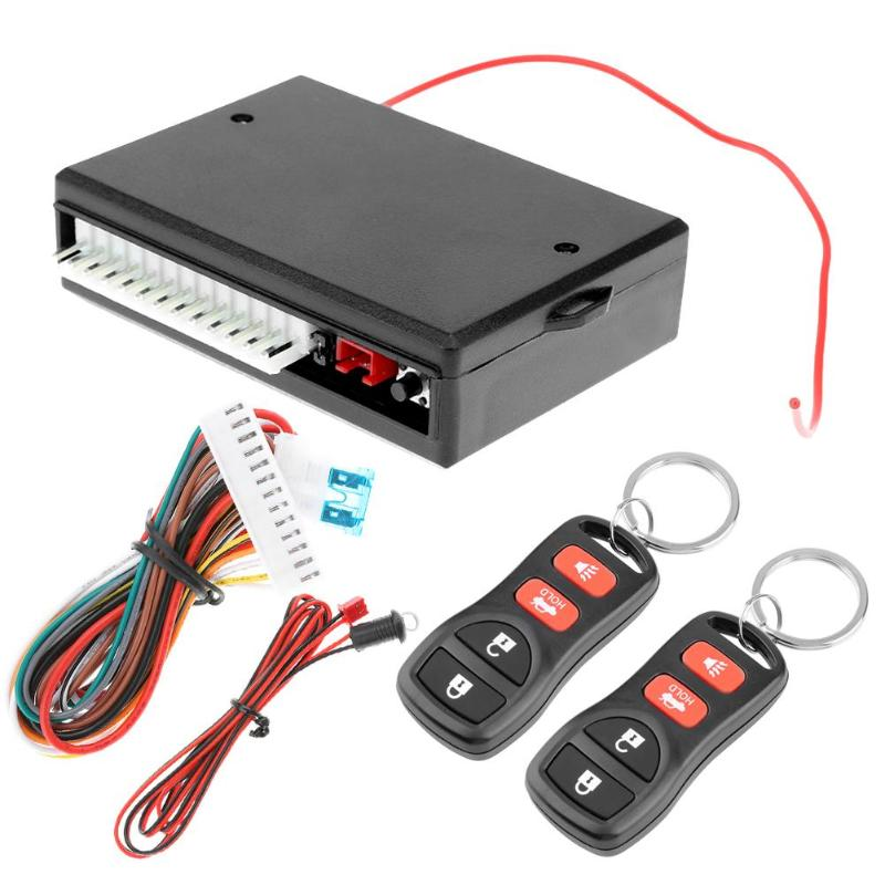 Hot Sale Universal Car Alarm Systems Auto Remote Central Kit Door Lock Keyless Entry System Central Locking With Remote Control