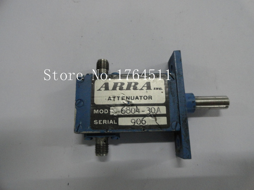 [BELLA] Adjustable Variable Attenuator ARRA 5-6804-30A 30dB 2-4GHz Extension