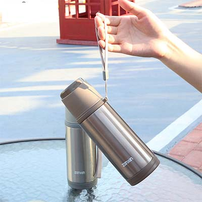 Bullet vacuum stainless steel thermos cup 350ml 21 6 8cm Free shipping in Vacuum Flasks Thermoses from Home Garden