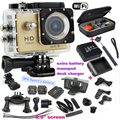2.0 inch Screen hdmi Wifi W9 Sports video Camera 1080p Full HD Mini Waterproof 30 m camcorder Go pro Camera Style sport camera