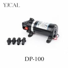 цена на Water Booster Fountain DP-100 12v High Pressure Diaphragm Pump Reciprocating Self-priming RV Yacht Aquario Filter Accessories