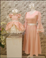 16 New Blush Pink Short Knee Length Girl Prom Dresses Lace And Ruched Ball Gown 1st