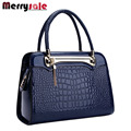 New ladies big bag women leather handbags Messenger bag pattern shoulder bag high quality bag