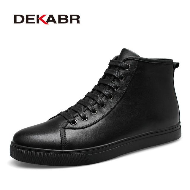 Chaussures Hommes Bottes cuir noir 48 V1RKGyc