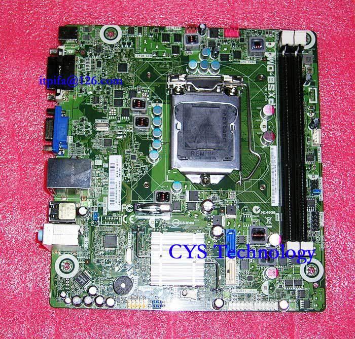 Prix pour Livraison gratuite pour origine carte mère pour 661846-001 IPXSB-DM socket 1155 chipset H61 Mini-ITX 17*19 cm travail parfait