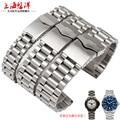 NEW styles 14mm 20mm 22mm Durable Classic Buckle Stainless Steel Watch Band Wrist Strap Women & Men's Bracelet Wholesale