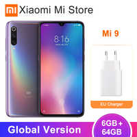 Global Version Xiaomi Mi 9 6GB 64GB Mi9 Mobile Phone Snapdragon 855 6.39